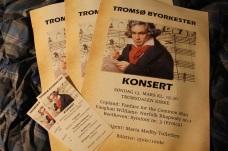 Program Tromsø byorkester og jeg: Beethovens Eroica m.m.